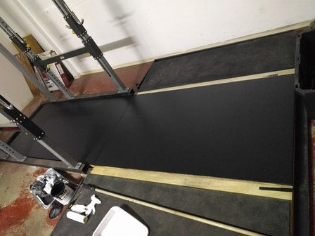 Rubber coating for gym equipment Rubberizeit