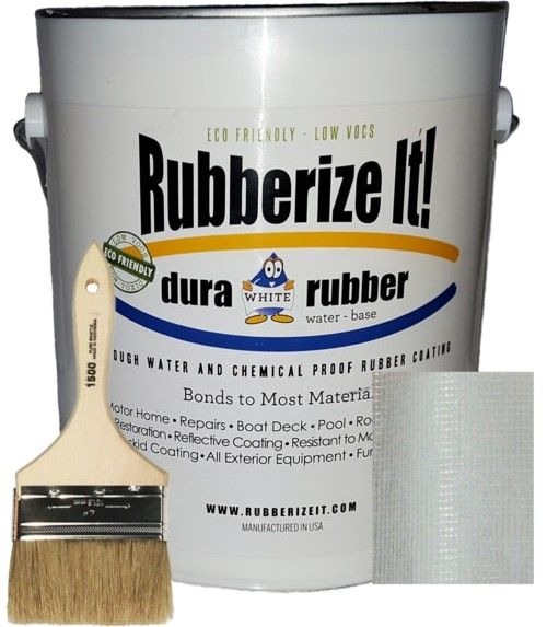 Dura-rubber 1 gallon & fabric