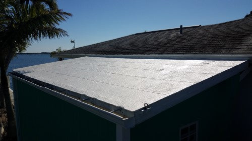 Shed Roof rubber coating