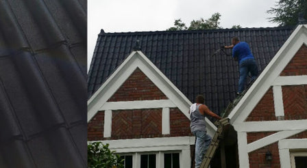 Rubberize roof spray