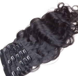 7A Brazilian Clip-Ins - Body Wave