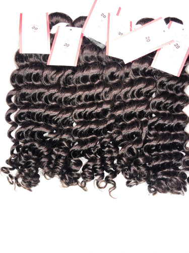 RAW Brazilian Hair - Deep Wave