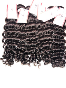 7A Brazilian Hair - Deep Wave
