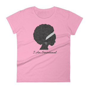 I Am Series: Sensational Women's short sleeve t-shirt