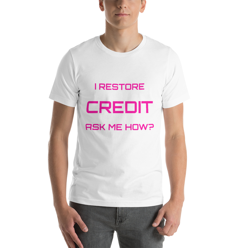 Credit Short-Sleeve Unisex T-Shirt