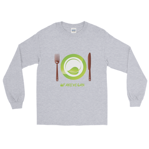 Fake Vegan Long Sleeve T-Shirt