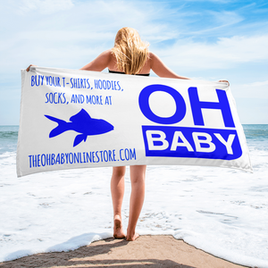 Oh Baby Beach Promo Towel