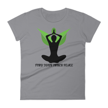 Inner Peace: Women's short sleeve t-shirt