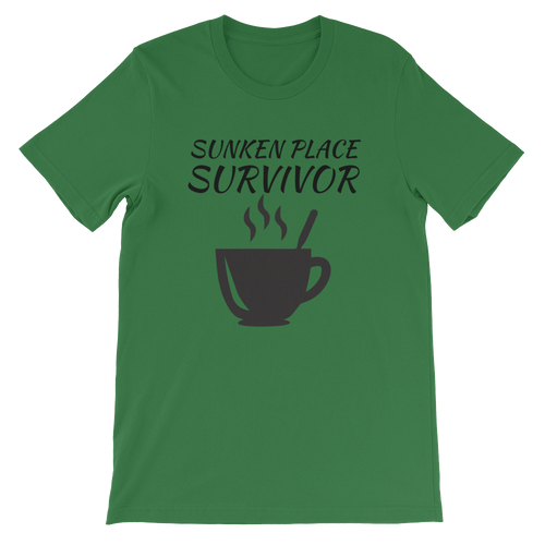 Sunken Place Survivor Short-Sleeve Unisex T-Shirt