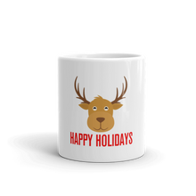 Reindeer Holiday Mug