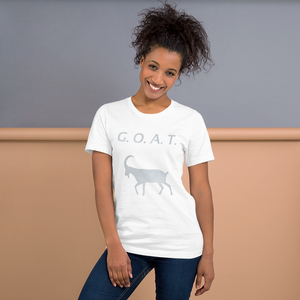 G.O.A.T. Front Only Short-Sleeve Unisex T-Shirt