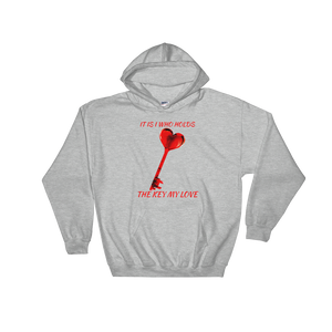 Key of Love Hooded Sweatshirt