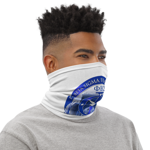 Phi Chapter White Neck Gaiter