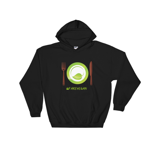 Fake Vegan Hooded Sweatshirt
