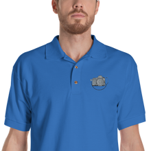 MD WILLIS Embroidered Polo Shirt