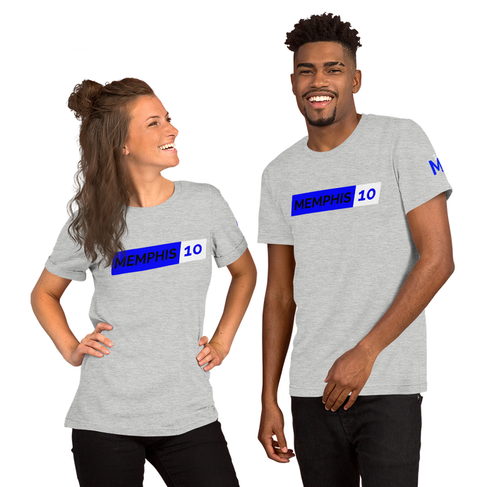Memphis 10 Short-Sleeve Unisex T-Shirt
