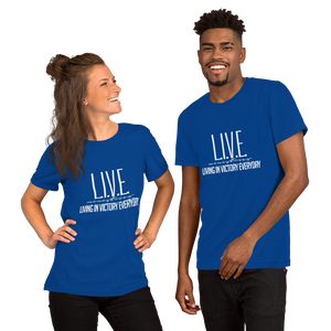 L.I.V.E. 3 Short-Sleeve Unisex T-Shirt