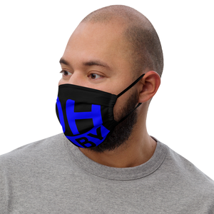 Oh Baby Blue Premium face mask
