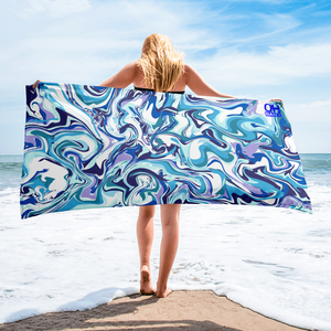 Cool Moves Beach Towel