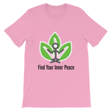 Find Your Inner Peace Short-Sleeve Unisex T-Shirt