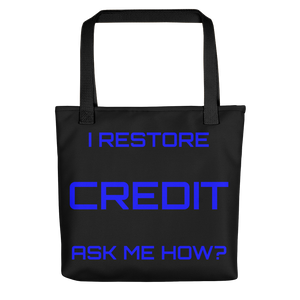 Credit 3 Tote bag