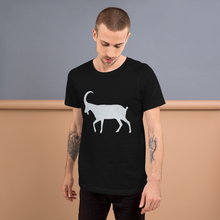 G.O.A.T. Front & Back Short-Sleeve Unisex T-Shirt