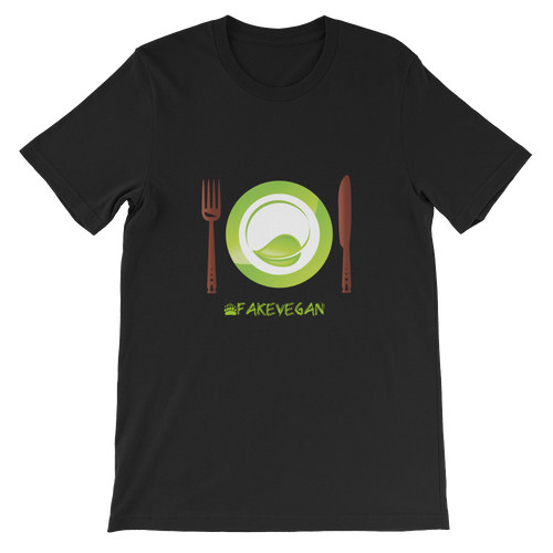 Fake Vegan Short-Sleeve Unisex T-Shirt