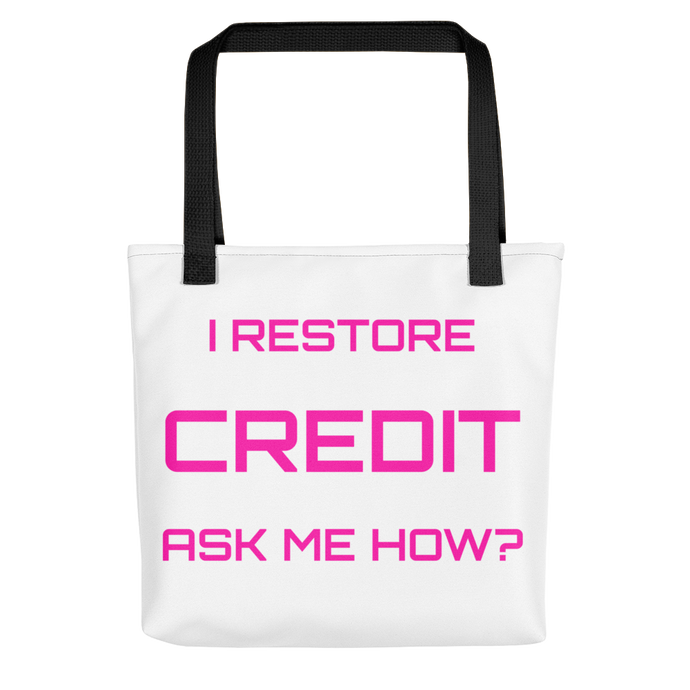 Credit Tote bag
