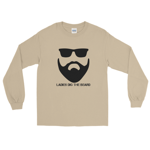 Bearded Long Sleeve T-Shirt