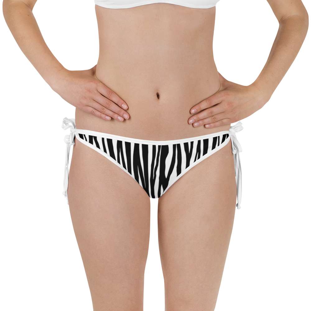 Zebra All Print Bikini Bottom