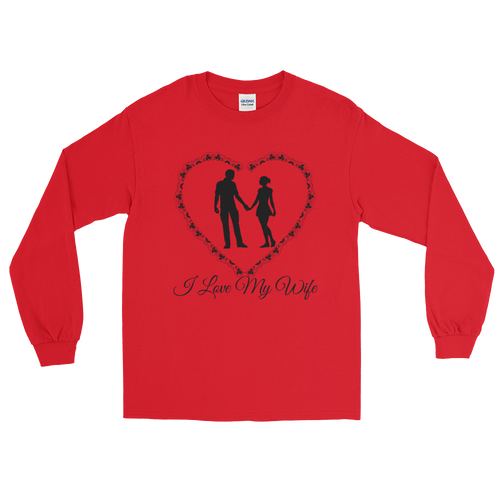 I Love My Wife Long Sleeve T-Shirt