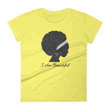 I Am Series: Beautiful Women's short sleeve t-shirt