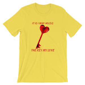 Key of Love Short-Sleeve Unisex T-Shirt