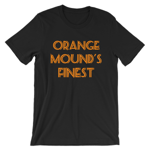 Orange Mound Short-Sleeve Unisex T-Shirt