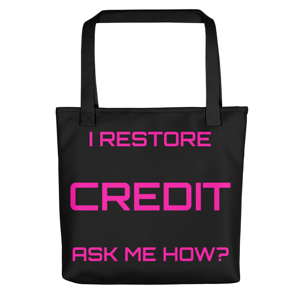 Credit 2 Tote bag