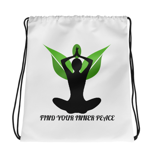 Inner Peace 2 Drawstring bag