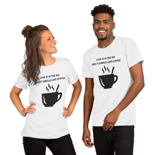 Love of Coffee Short-Sleeve Unisex T-Shirt