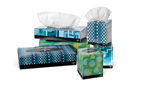 Medline Premium Facial Tissue