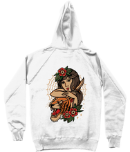 Trad Tiger Girl Hoodie W
