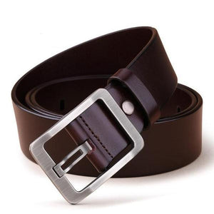 Bold Genuine Leather Men's Designer Belt - 3 Colours Available