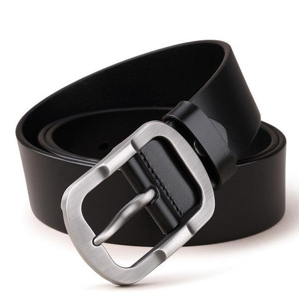 Genuine Leather Men's Designer Fashion Belt - Haus of Leather
