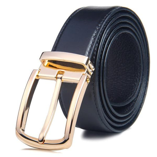 Men's Genuine Leather Belt Classic Style - 3 Colours Available