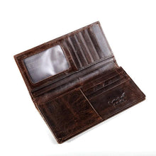 leather wallet compartments