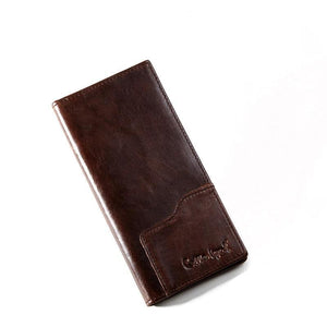 leather wallet men genuine leather