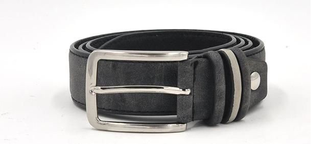 Stylish Men's Designer Belt With Contrasting Band - 3 Colours Available - Haus of Leather