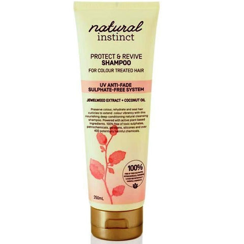 Natural Instinct Protect & Revive Coloured Shampoo 250mL