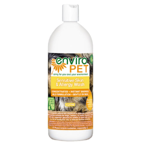Enviro Pet Sensitive Skin & Allergy Wash & Conditioner 1 litre