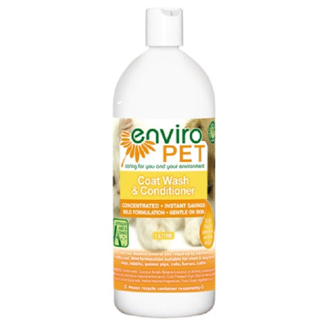 Enviro Pet Skin and Coat Wash 1 litre