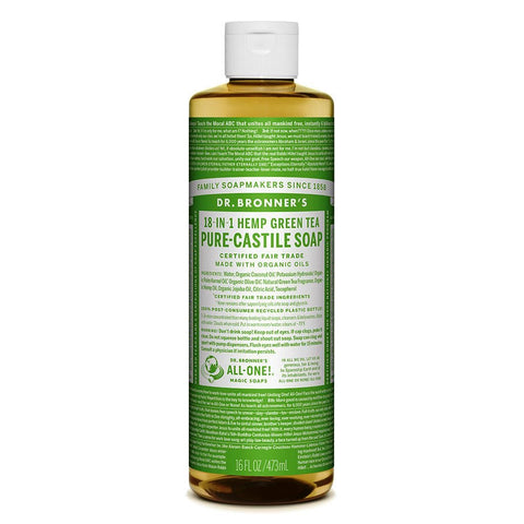 Dr. Bronner's Pure-Castile Liquid Soap - Green Tea