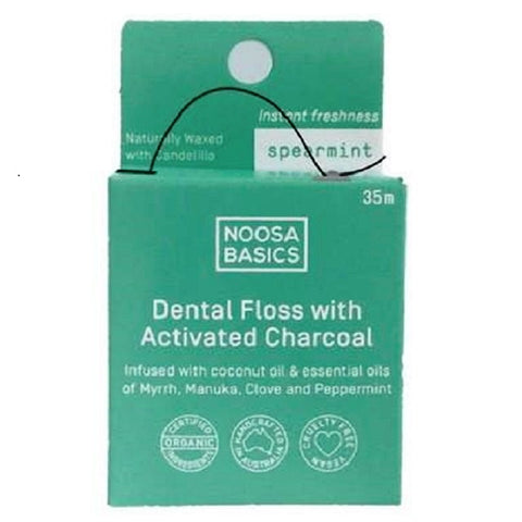 Noosa Basics Dental Floss with Activated Charcoal